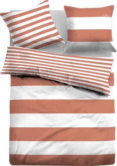 Wendebettwäsche »Siena«, TOM TAILOR, im Streifen Design
