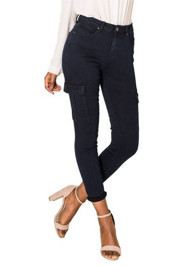 Nina Carter Casualpants »3199« Damen Cargohose Stretch