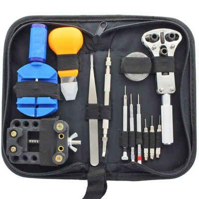 AccuCell »Uhrmacher Werkzeugset ca. 30-teilig inklusive Aufb« Knopfzelle