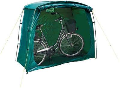 Happy People Fahrradschutzhülle »79260«, 200 x 80 x 150 cm, Fahrradgarage, mit Reißverschluss, Universal, verschließbar, Spielzeuglager, grün