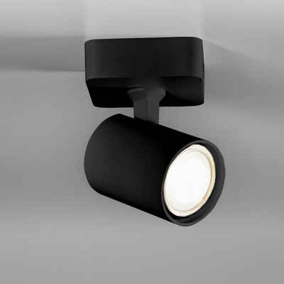 click-licht Deckenspot »Spot Cup in Schwarz GU10 1-flammig«, Deckenstrahler, Deckenspot, Aufbaustrahler