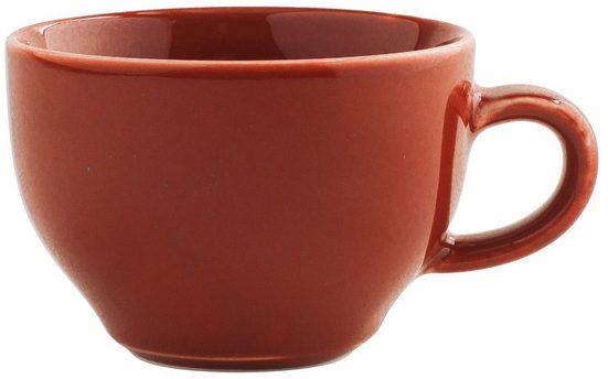 Kahla Cappuccinotasse »International Homestyle 0,23 l«, Porzellan, Handglasiert, Made in Germany