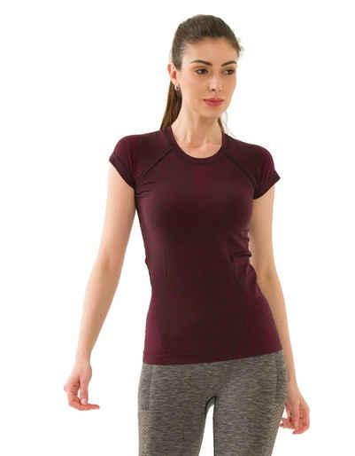 yeni inci Seamless Shirt »Funktionshirts« nahtlose, atmungsaktive, schnell trockend