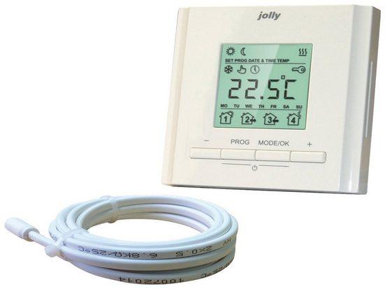 bella jolly Raumthermostat »Top-Therm«, max. 230 V, elektronisch, für Fußbodenheizungen