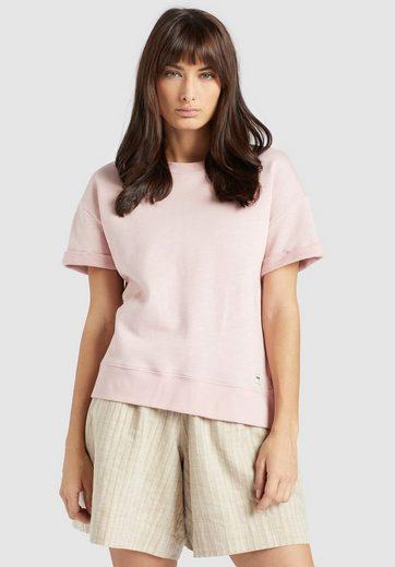 khujo Sweatshirt »MALEA« mit Kurzarm