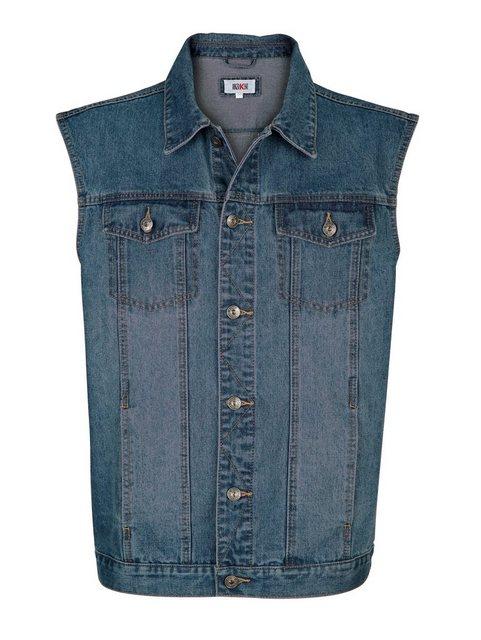 Roger Kent Jeansweste mit leichter Waschung | Bekleidung > Westen > Jeanswesten | Roger Kent