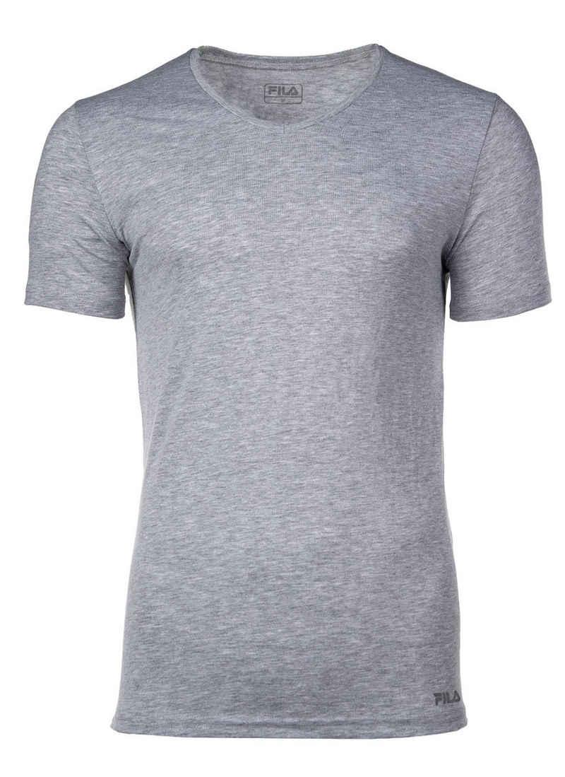 Fila T-Shirt »Herren Unterhemd - V-Ausschnitt, Single Jersey,«