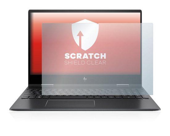 upscreen Schutzfolie »für HP Envy x360 15-ds0210ng«, Folie Schutzfolie klar anti-scratch