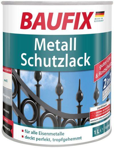 Baufix Metallschutzlack »Schwarz«, 1 Liter, schwarz