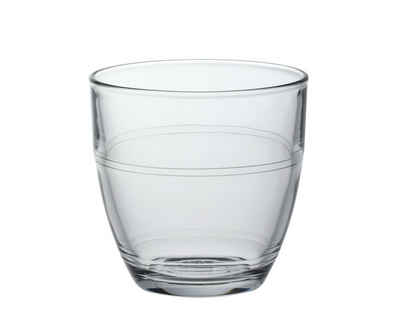 Duralex Tumbler-Glas »Gigogne«, Glas, Trinkglas Wasserglas Saftglas 160ml Glas transparent 4 Stück