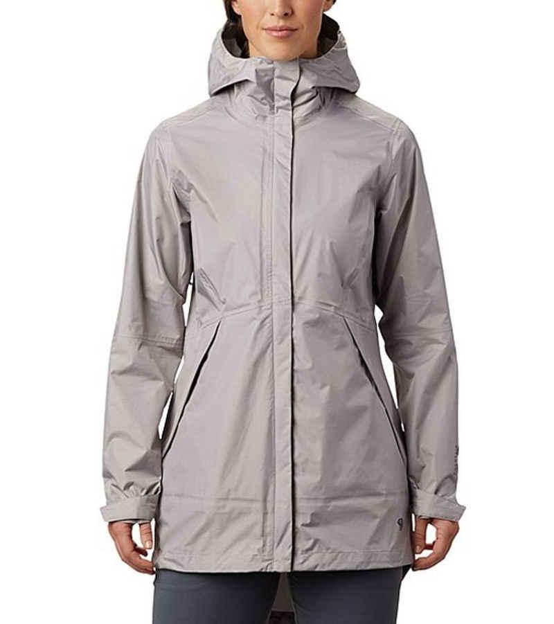 Mountain Hardwear Outdoorjacke »MOUNTAIN HARDWEAR Acadia Regen-Jacke leichte Damen Go-To-Windjacke Freizeit-Jacke Hellgrau«
