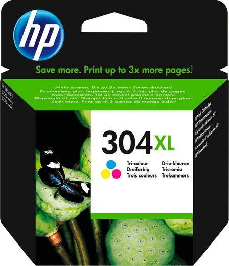 HP »hp 304XL Original Cyan, Magenta, Gelb« Tintenpatrone (1-tlg)