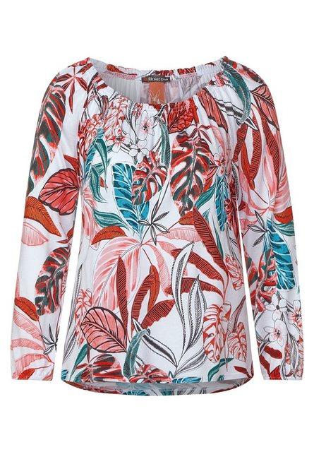 STREET ONE Carmenshirt mit 3/4 Ärmeln | Bekleidung > Shirts > Carmenshirts & Wasserfallshirts | Street One