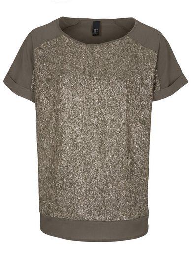 heine CASUAL Blusenshirt mit Glanzeffekt