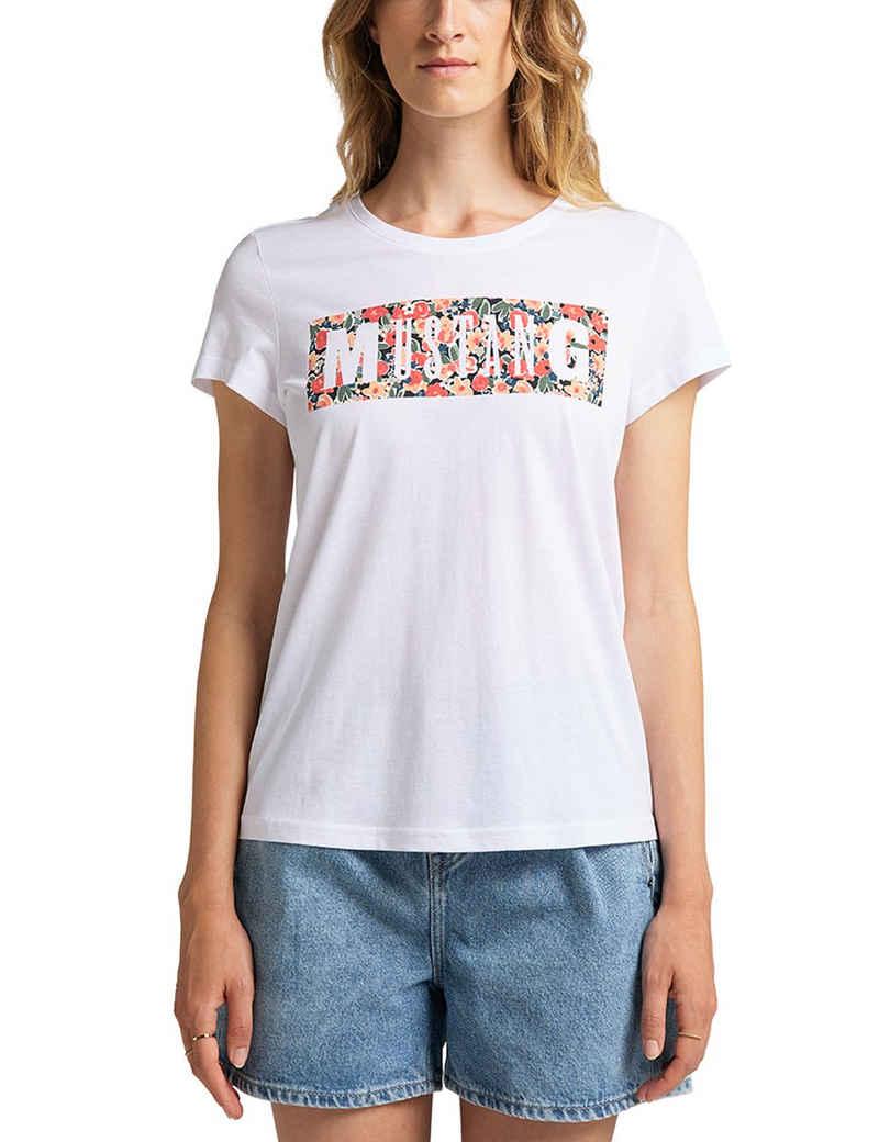 MUSTANG T-Shirt »Alina C Print« lässig geschnitten