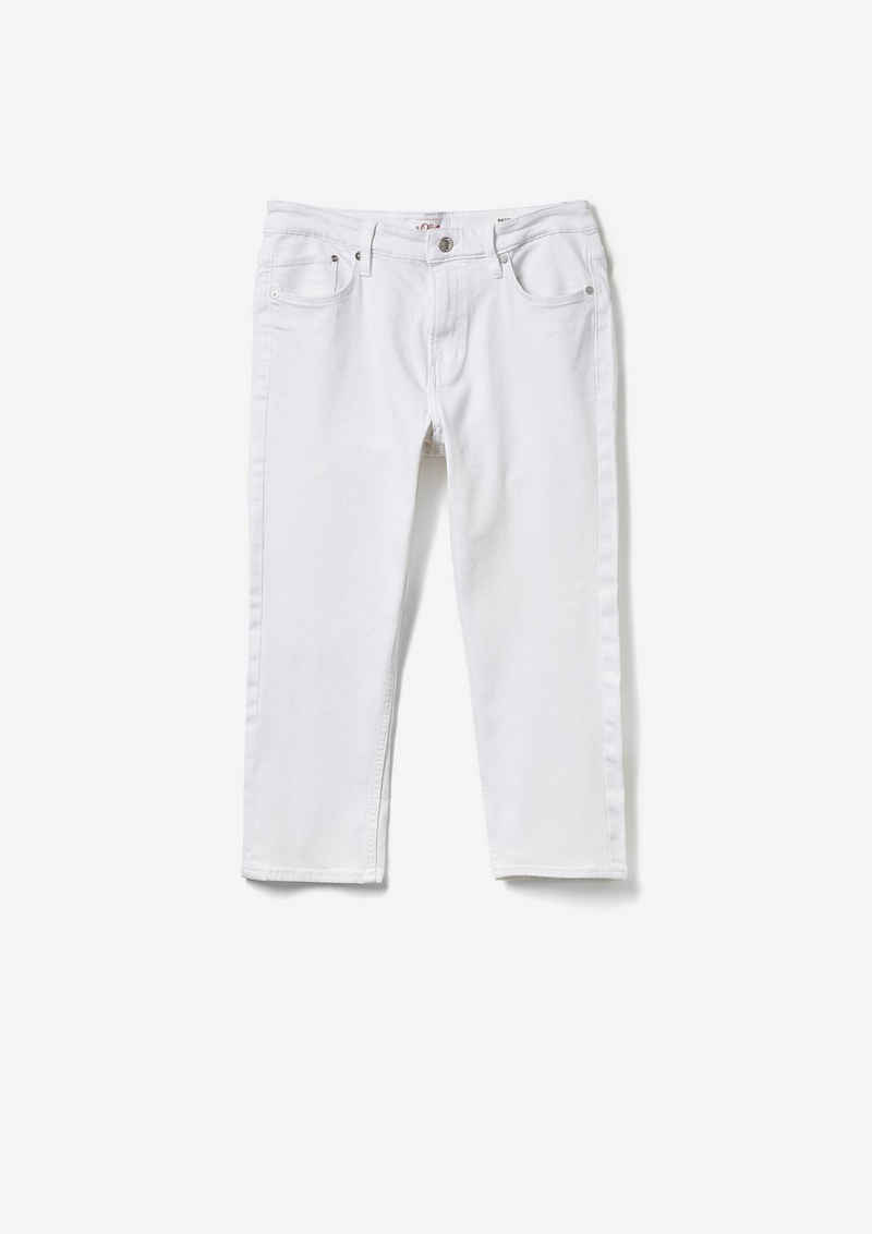 s.Oliver 7/8-Jeans »Slim Fit: Caprijeans« Garment Dye