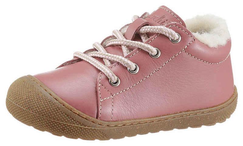 Lurchi »Tito WMS Weiten Schuh Mess System: normal« Lauflernschuh mit Schurwollfutter