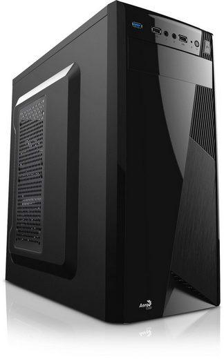 Kiebel Midi ATX Business-PC (Intel Core i3 Intel Core i3-10100, HD Graphics 630, 8 GB RAM, 512 GB SSD, Luftkühlung)
