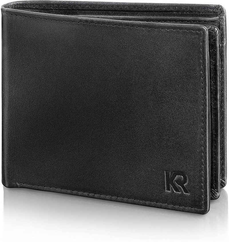 KRONIFY Geldbörse »Herren Geldbörse«, mit geprüftemRFID- und NFC-Schutz