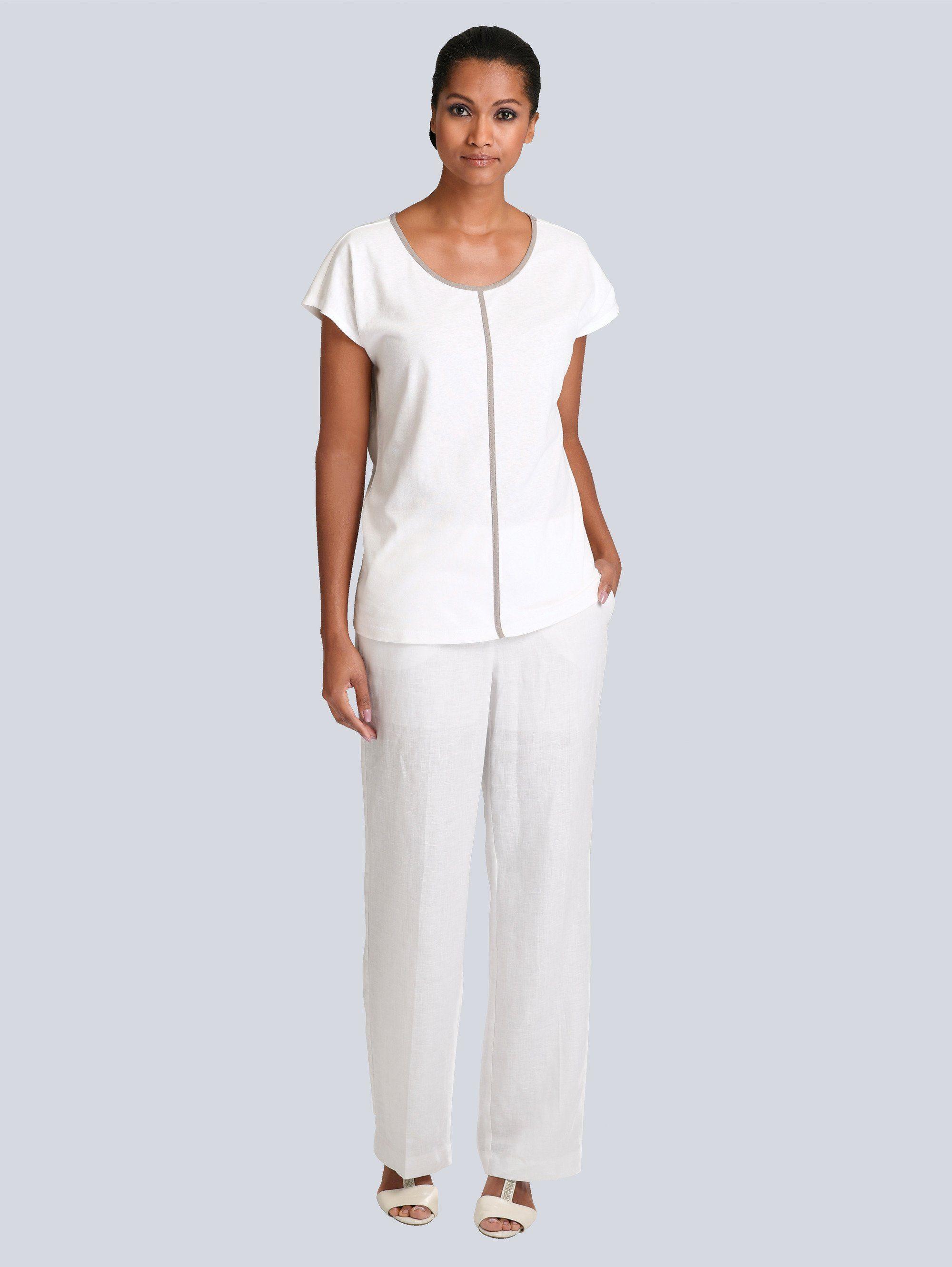 Alba Moda Shirt in schöner Baumwoll-Modalqualität