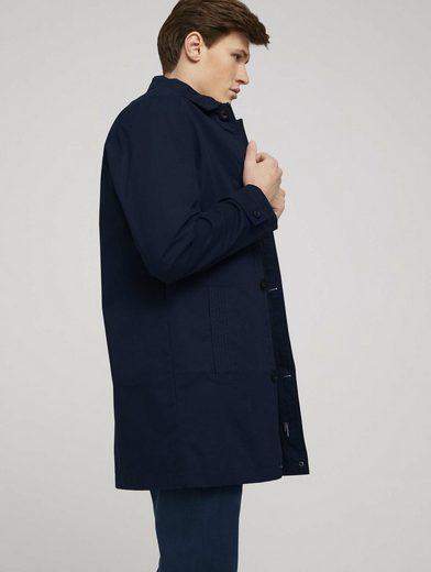 TOM TAILOR Trenchcoat »kurzer Mantel aus Twill«