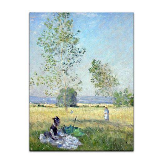 Bilderdepot24 Leinwandbild, Leinwandbild - Claude Monet - Sommer