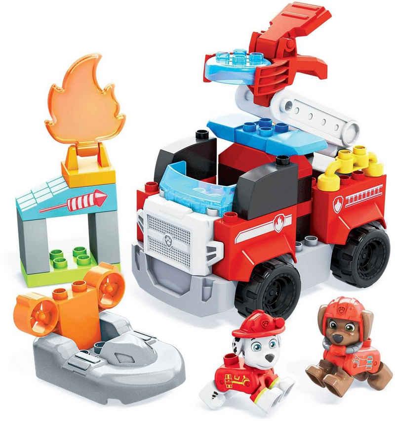 Mattel® Konstruktionsspielsteine »Paw Patrol -Marshalls Feuerwehrauto - Mega Bloks - GYJ01«