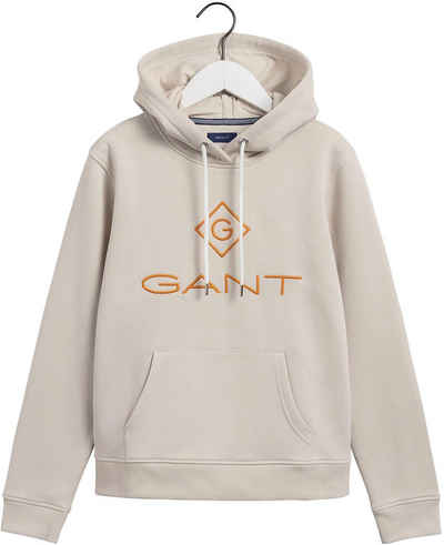 Gant Kapuzensweatshirt mit Logo-Aufdruck