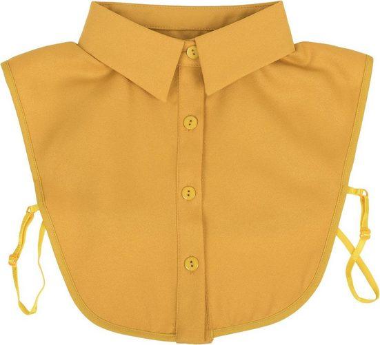 styleBREAKER Einsteckkragen, Einfacher Blusenkragen