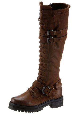 Mjus »DOBLE« suvarstomi ilgaauliai batai su...
