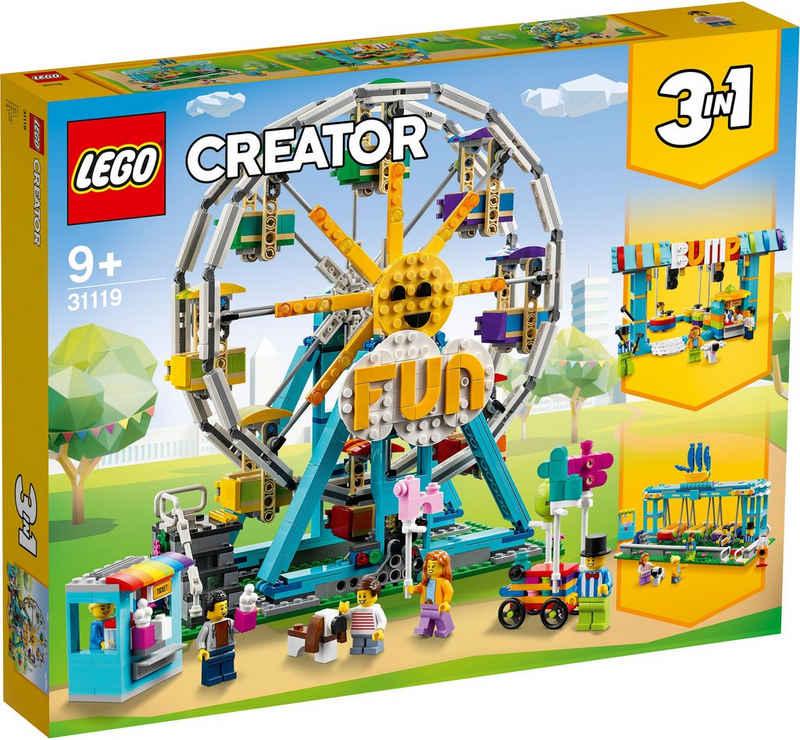 LEGO® Konstruktionsspielsteine »Riesenrad (31119), LEGO® Creator 3in1«, (1002 St)