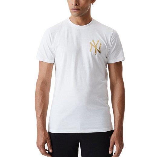 New Era Print-Shirt »METALIC MLB New York Yankees«