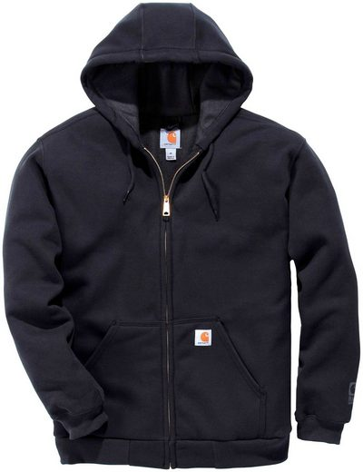 CARHARTT Sweatshirt »Ruthland Thermal Lined Fullzip«, Mit Thermofütterung