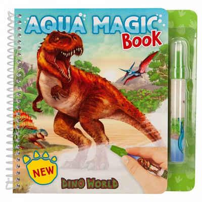Depesche Malvorlage »Dino World Aqua Magic Book«