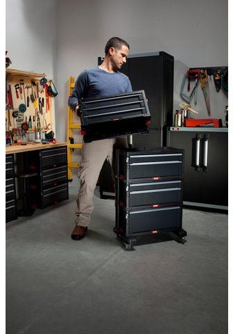 Keter Werkstattwagen abschließbar 7 Schublad...