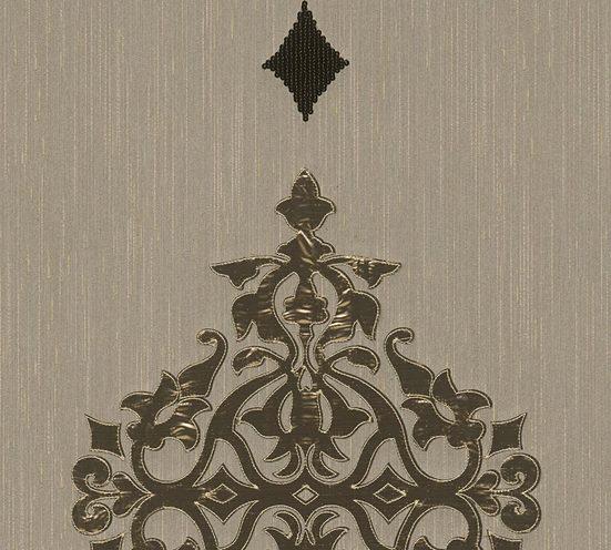 Architects Paper Textiltapete »Wall Fashion«, samtig, Barock, Metall-Effekte, mit Ornamenten