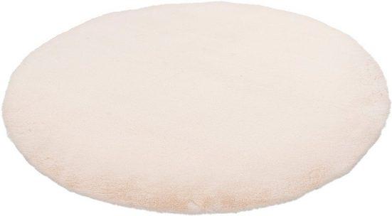 Fellteppich »My Cha Cha 535«, Obsession, rund, Höhe 18 mm, Kunstfell, ein echter Kuschelteppich, Wohnzimmer