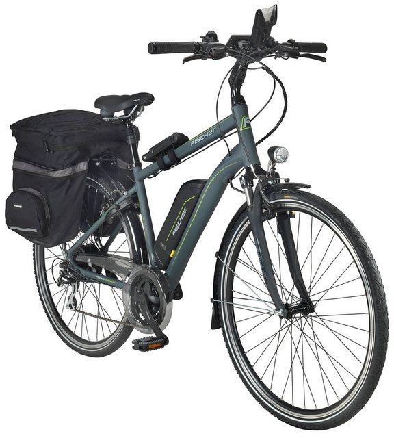 FISCHER FAHRRAEDER E-Bike Trekking Herren »ETH1806«, 28 Zoll, 24 Gang, Heckmotor, 422 Wh*