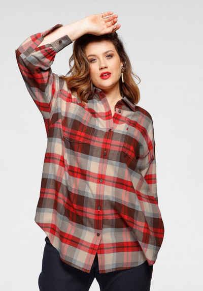 Levi's® Plus Langarmbluse »Remi Utility Shirt« mit Knopfleiste
