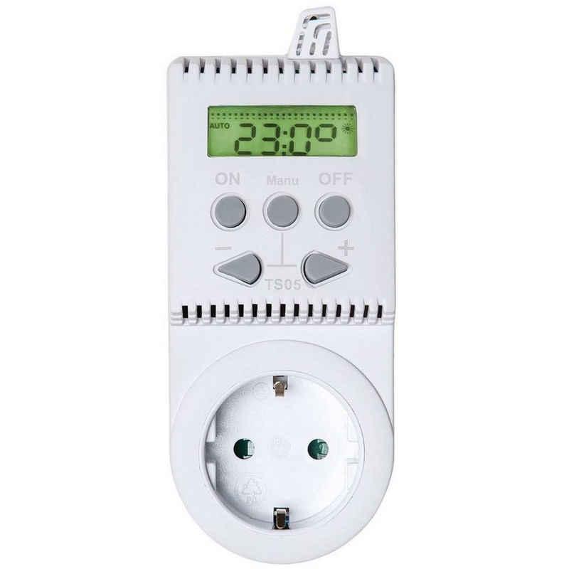tectake Heizkörperthermostat »Thermostat für Steckdose TS05«