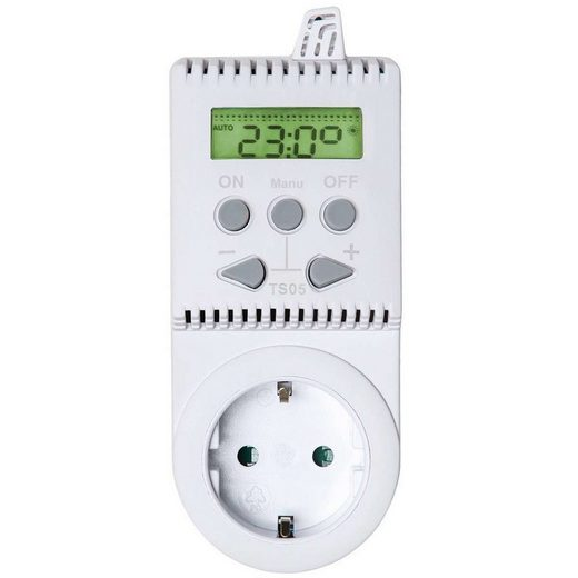 tectake »Thermostat für Steckdose TS05« Smartes Heizkörperthermostat