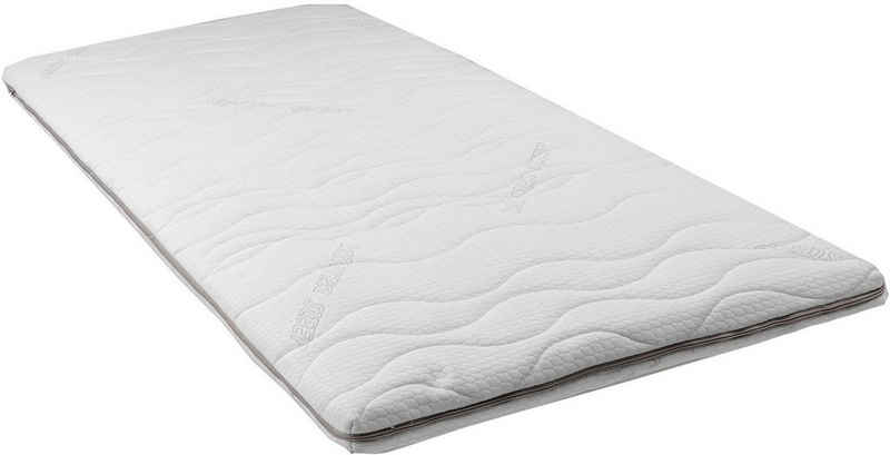 Topper »Seasonsleep Geltopper«, Breckle, 8 cm hoch, Raumgewicht: 50, Gelschaum, perfekte Anpassung an die Körperform, Made in Germany