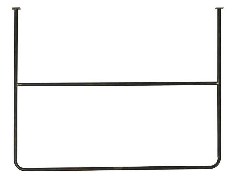 Wandhaken »Deckenhänger Deckenhalter Topfhänger Hakenleiste L 1m Metall Ib Laursen 31081-25«, Ib Laursen