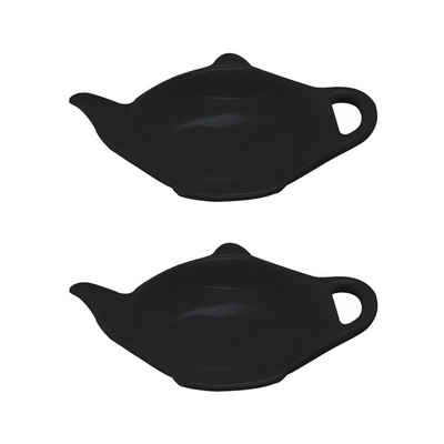 Neuetischkultur Servierschale »Teebeutelablage 2er-Set Teekanne«, Porzellan, (2-tlg)