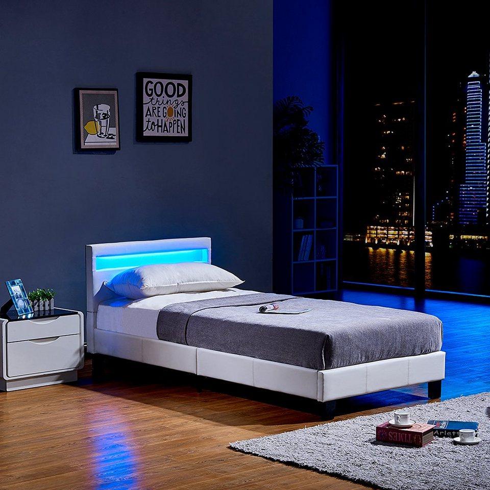 HOME DELUXE Bett »LED Bett Astro« (Set, 2-St., Bett und
