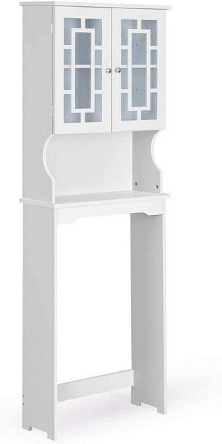 Badregale - COSTWAY Badregal »Badregal Waschmaschinenregal weiß«, mit 3 Regalen  - Onlineshop OTTO