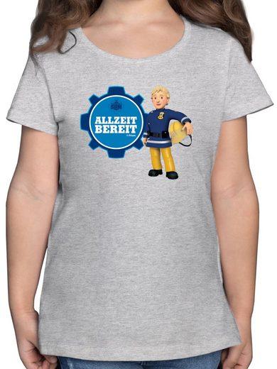 Shirtracer T-Shirt »Feuerwehrfrau Penny - Allzeit bereit - Feuerwehrmann Sam Mädchen - Mädchen Kinder T-Shirt - T-Shirts« mädchen 5 jahre