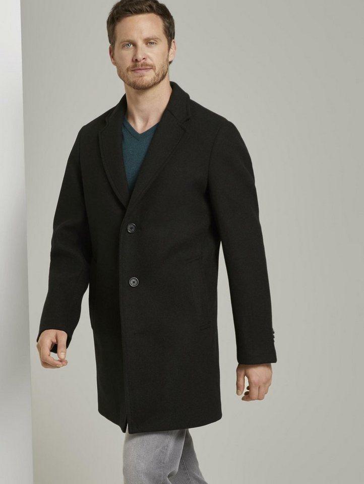 tom tailor -  Wollmantel »Klassischer Wollmantel«