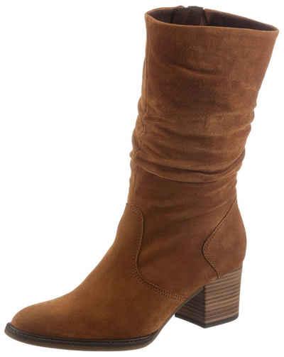 Gabor »ANCONA« Stiefel mit modischen Raffungen
