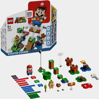 Konstruktionsspielsteine »Abenteuer mit Mario – Starterset (71360), LEGO® Super Mario«, (231 St)